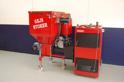 GEJS Stoker 250 Litre with optional boiler
